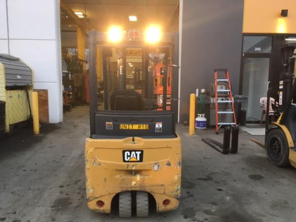 CAT SKID STEER SWEEPER 2